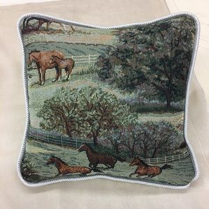 Face fabric tapestry Apolstery  pillow Size 12x12""